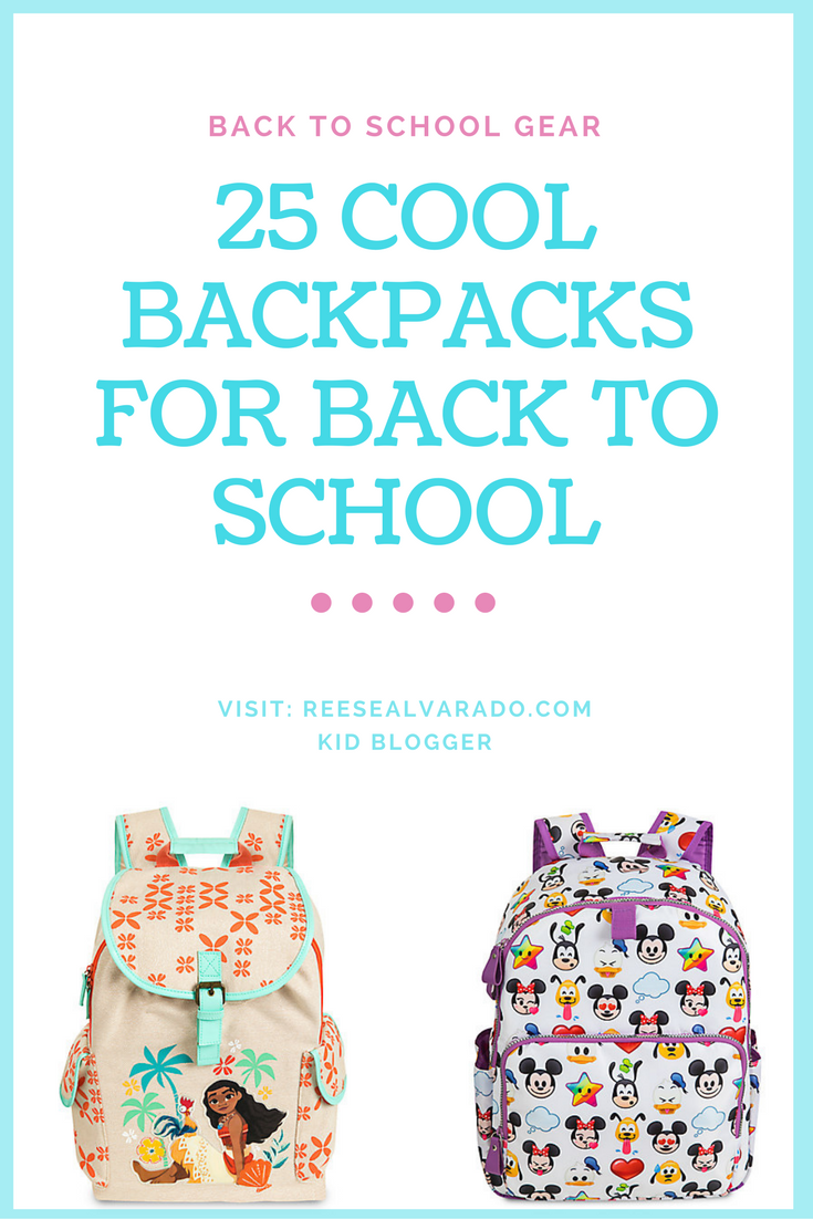 25 Cool Backpacks for Disney Lovers