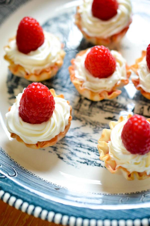 Summer Raspberry Tarlets